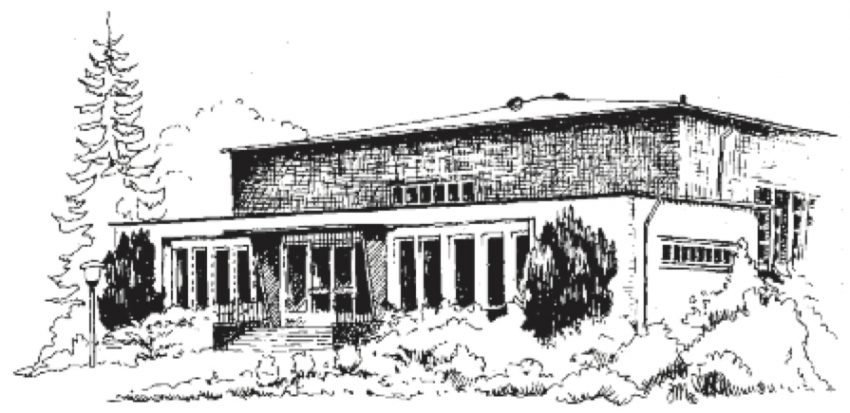 Berner Bote, Monatszeitschrift für Farmsen-Berne und Umgebung (Titel, Volkshaus)