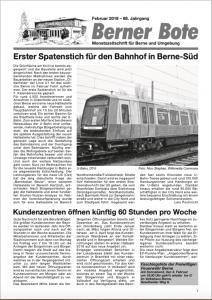 Berner Bote, 2018-01, Titelbild