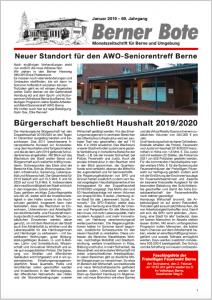 Berner Bote, 2019-01, Titelbild