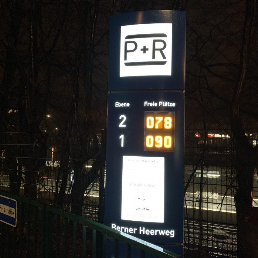 P+R-Parkplatz Berne