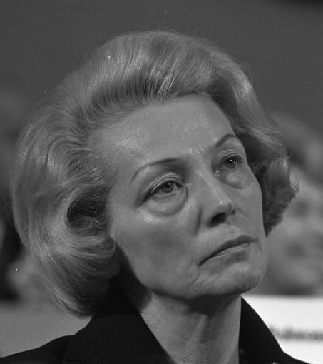 Bundesparteitag der SPD in Hannover (Annemarie Renger) 10.-14.4.1973