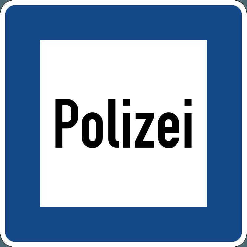Verkehrszeichen Polizei