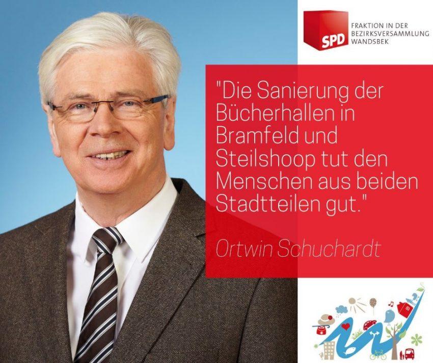 Ortwin Schuchardt, SPD-Fraktion in der Bezirksversammlung Wandsbek