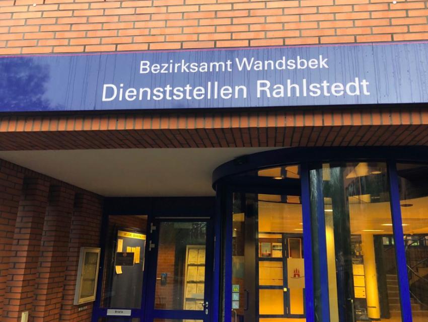 Bezirksamt Wandsbek, Kundenzentrum Rahlstedt