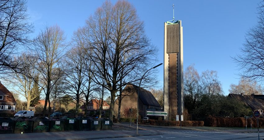 Friedenskirche Berne, Hamburg (Januar 2019, Foto: Marc Buttler)