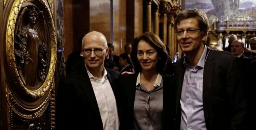 Peter Tschentscher, Katarina_Barley und Dirk_Kienscherf (v.l.n.r); Foto: SPD-Fraktion in der Hamburgischen Bürgerschaft