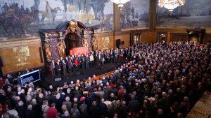 Neujahrsempfang der SPD-Fraktion im Rathaus, Februar 2019; Foto: SPD-Fraktion in der Hamburgischen Bürgerschaft