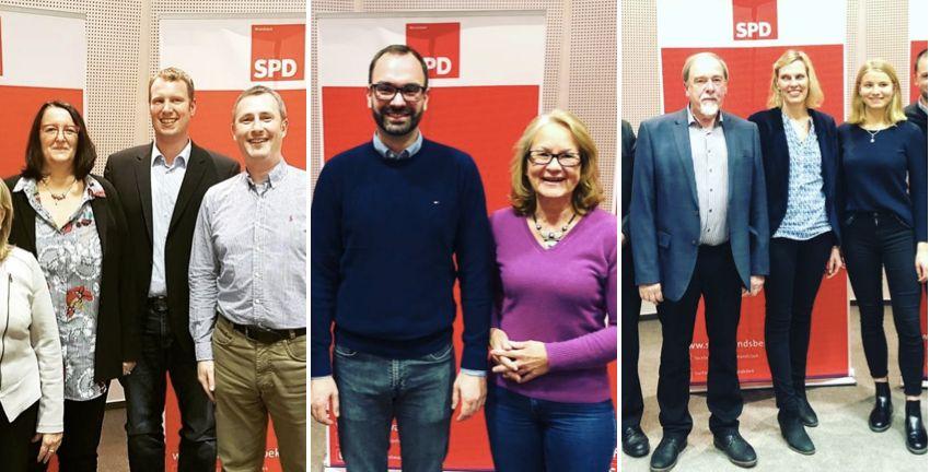 SPD-Kandidat/innen der Wahlkreise 5, 6 und 7 (Walddörfer und Alstertal) für die Bezirksversammlungswahlen 2019
