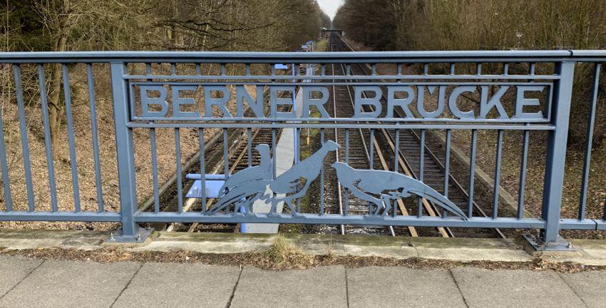 Berner Brücke in Hamburg-Farmsen-Berne (2019)
