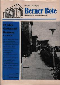 Berner Bote, März 1969, Titelbild