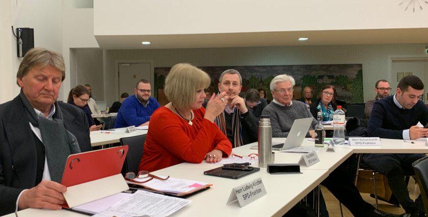 SPD-Fraktion in der Bezirksversammlung Wandsbek (Januar 2019)