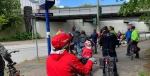 Kommunalpolitische Fahrradtour der SPD Berne