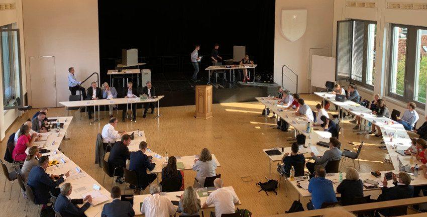 Konstituierende Sitzung der Bezirksversammlung Wandsbek am 20.06.2019; Foto: Marc Buttler