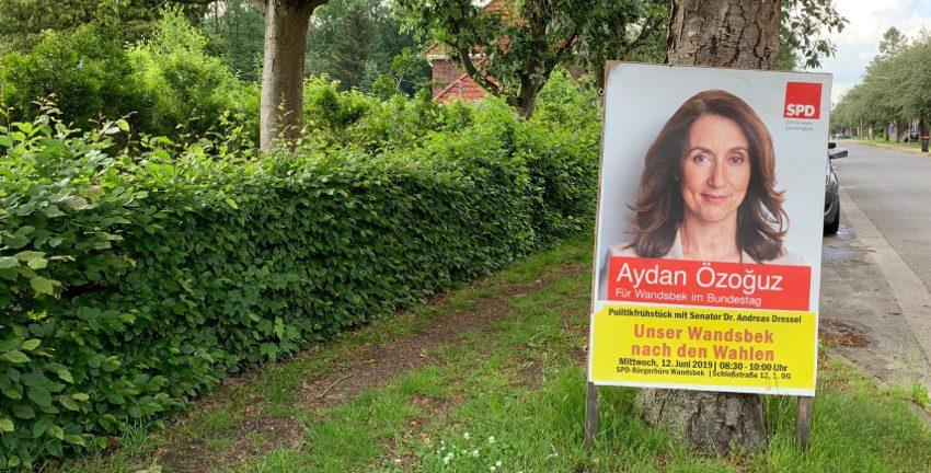 """Politikfrühstück """"Unser Wandsbek nach den Wahlen"""" mit Aydan Özoğuz und Dr. Andreas Dressel am 12.06.19"""