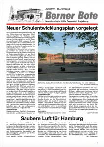 Berner Bote, Juni 2019 (Titelbild)