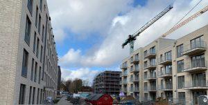 Wohnungsbau in Farmsen-Berne, (c) 2019 Marc Buttler