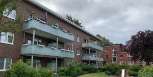 Wohnungen der Gartenstadt Hamburg eG an der Ole Wisch, Bramfeld