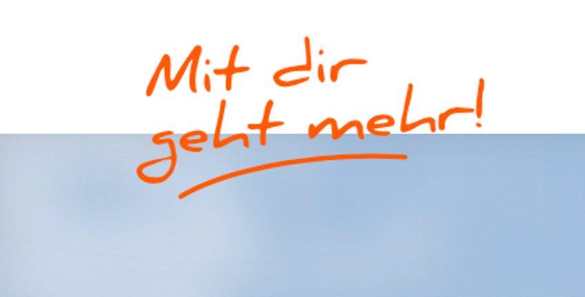 """Logo der Kampagne """"Mit dir geht mehr!"""" (www.mitdirgehtmehr.hamburg, Freie und Hansestadt Hamburg/BASFI)"""