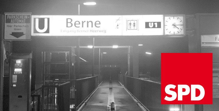 SPD-Berne, U-Bf. Berne; Foto: Marc Buttler