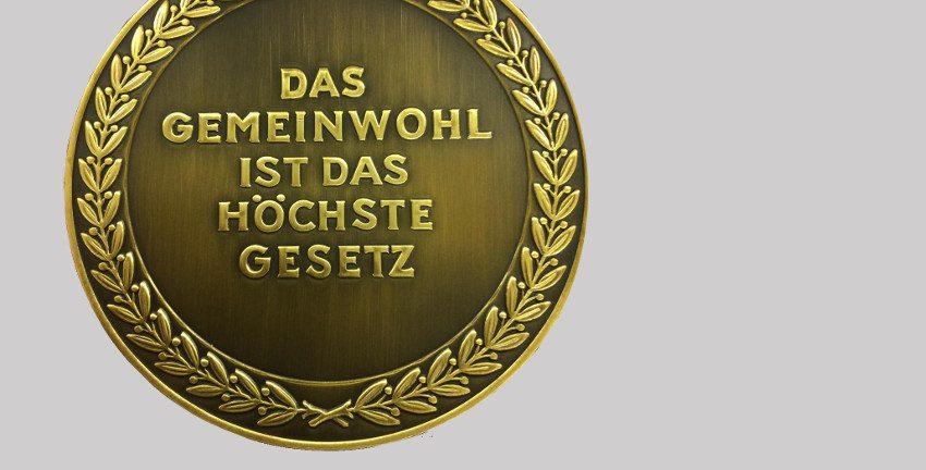 Medaille in Bronze für treue Arbeit im Dienste des Volkes