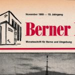 Berner Bote, November 1969 (Titel)