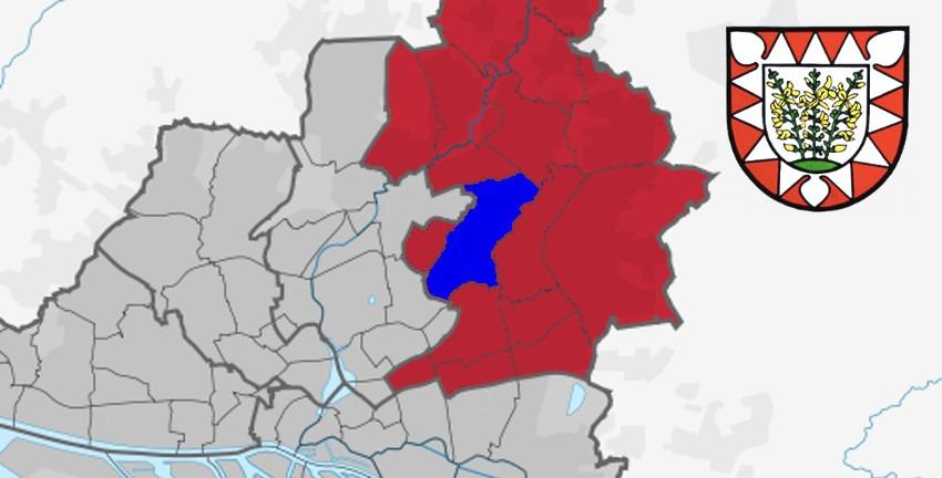 Bezirk Wandsbek mit dem Stadtteil Bramfeld in Hamburg; Karte: TUBS_[CC0]
