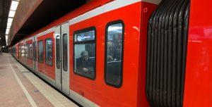 S-Bahn in Hamburg Hbf.; Foto: Marc Buttler