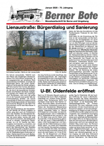 Berner Bote 2020-01 (Titelbild)