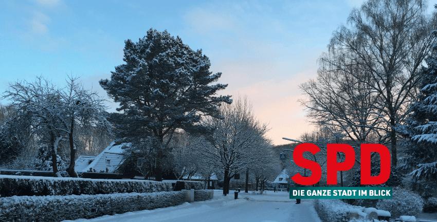 Winter in Farmsen-Berne (SPD)