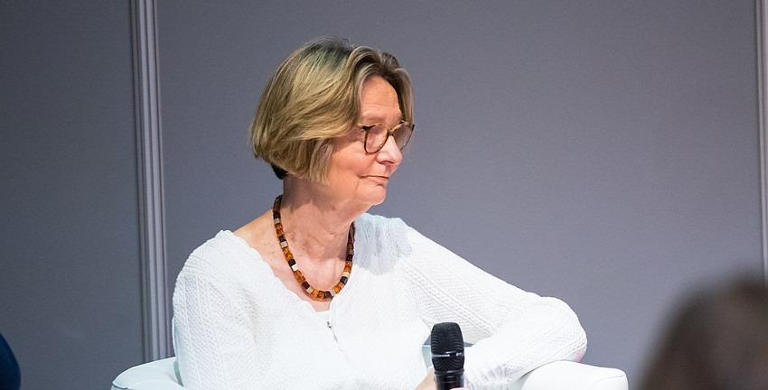 Kirsten Boie; Foto: Sven Mandel / CC-BY-SA-4.0, 2018