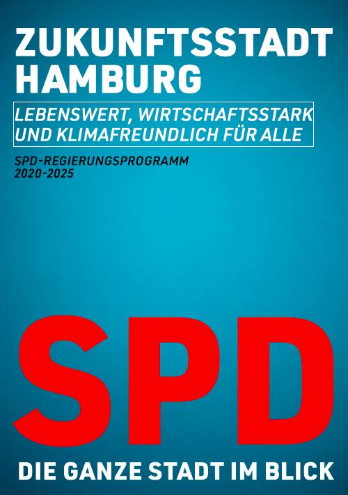 SPD: Regierungsprogramm2020-2025