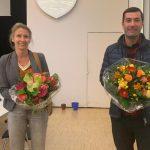 Verabschiedung von Anja Quast und Cem Berk im Hauptausschuss der Bezirksversammlung Wandsbek am 20.04.2020 (Foto: Marc Buttler)