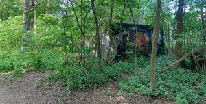 Bunker im Berner Wald, Karlshöher Weg (2020; Foto: Marc Buttler)