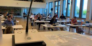 Sitzung des Jugendhilfeausschusses Wandsbek am06.05.2020 im Bürgersaal