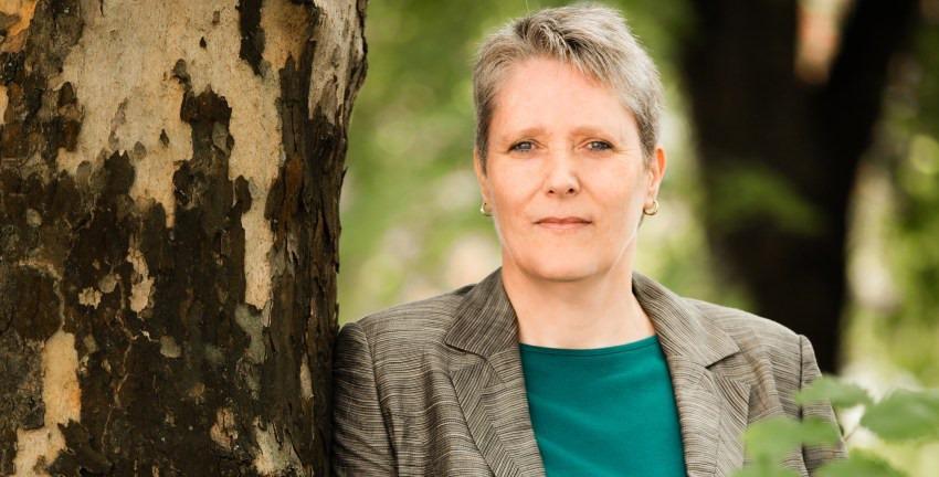 Frauke Häger (Ex-) Grüne Wandsbek; Foto: Elfriede Liebenow
