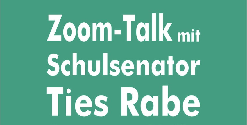 Zoom-Talk mit Ties Rabe