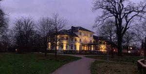 Berner Schloss im Winter