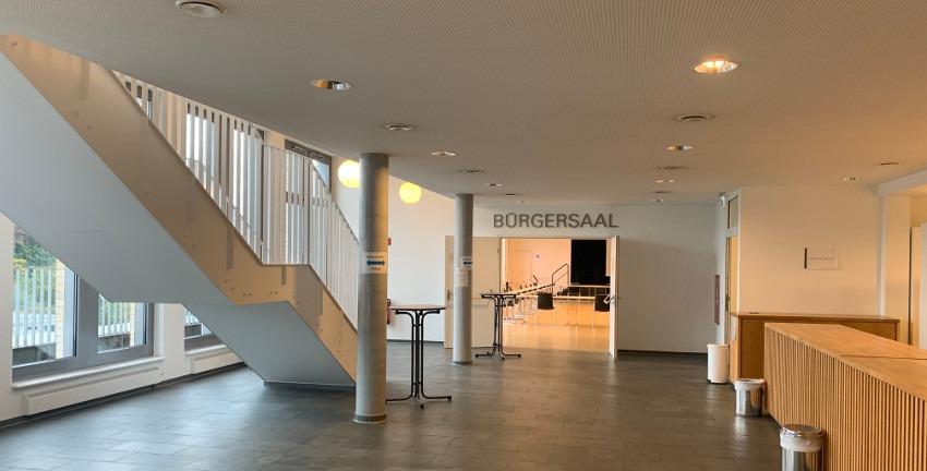 Bürgersaal in Hamburg-Wandsbek, (c) Marc Buttler, 09/2020