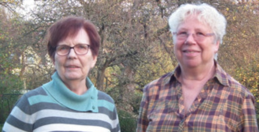 Elke Rennert und Elionore Seils Foto: (c) Seils