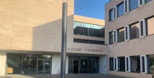 Gymnasium Farmsen in Farmsen-Berne, Hamburg; Foto: Marc Buttler, 01/2020