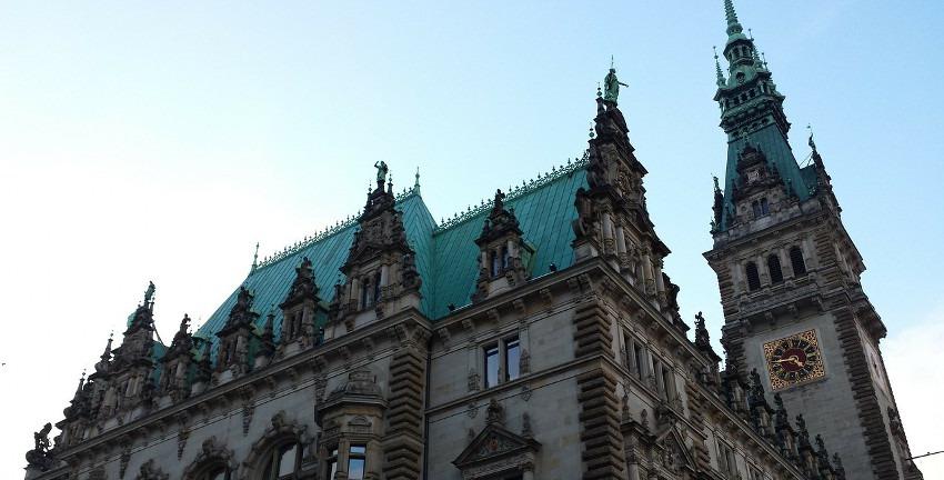 Rathaus Hamburg , Bild: PublicDomainPictures/Pixabay