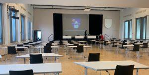 Bürgersaal in Wandsbek, Dezember 2020
