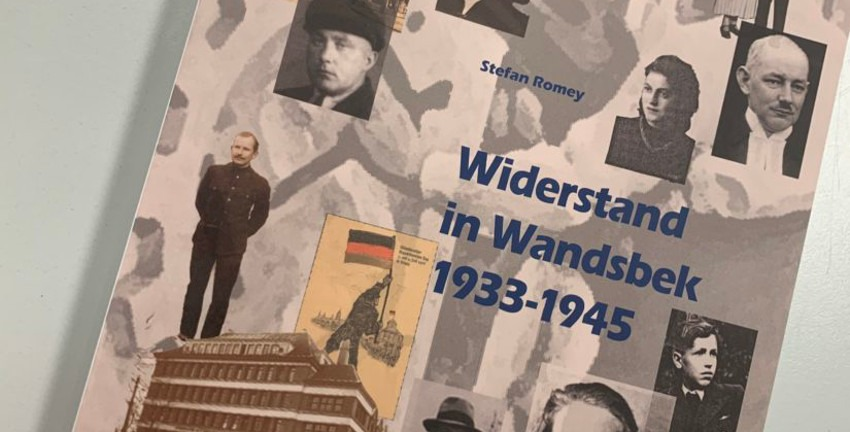 Buchtitel Romey, Widerstand in Wandsbek 1933-1945