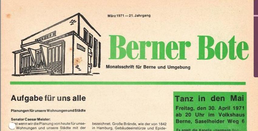 Berner Bote 1971-04 (Titelbild)