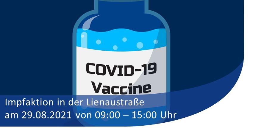 Impfaktion des tus BERNE am 29.08.2021