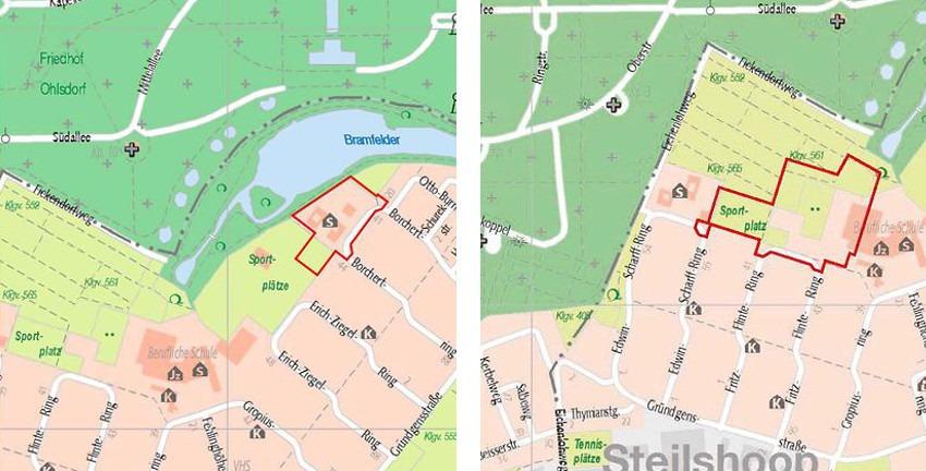 Bebauungspläne Steilshoop 11 und 12