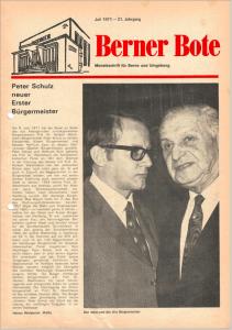 Berner Bote, 1971-07