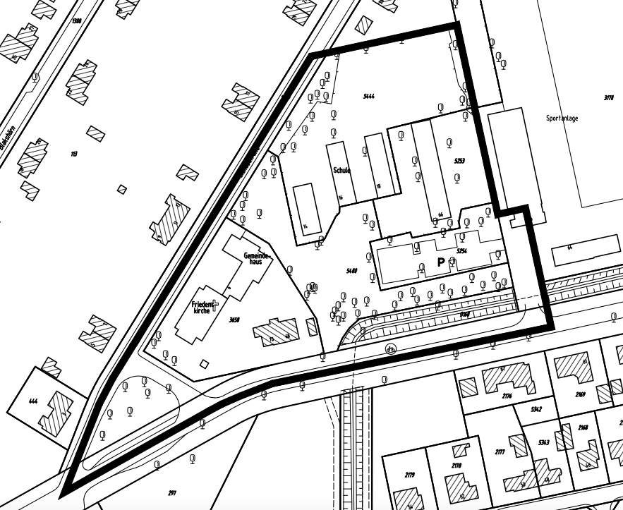 Bebauungsplan Farmsen-Berne 39, Plangebiet