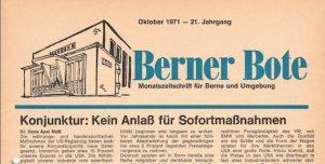 Berner Bote 1971-10