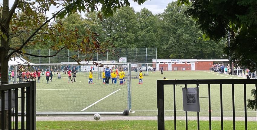 Sportplatz Berner Allee in Farmsen-Berne